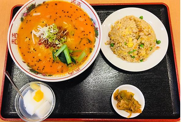炒飯+半ラーメンセット